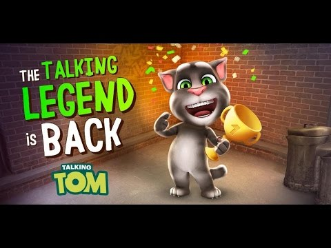 Talking Tom Cat - The Legend is Back - YouTube