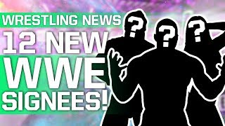 WWE Announce 12 New Signees   Surprise Title Change On Raw