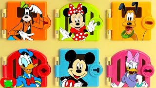 Mickey Mouse Club House Friends Trapped Learn Colors Best Learning Video