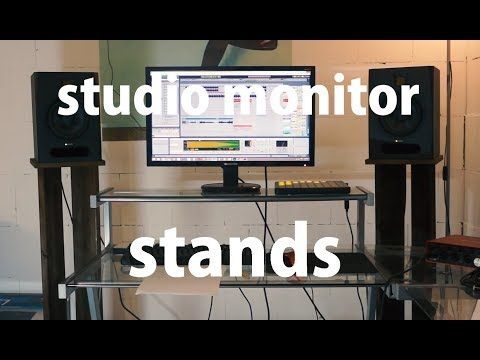 Custom Studio Monitor Stands - Easy D.I.Y Project