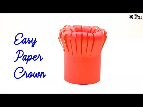Easy Paper Crown | How to Make Easy Paper Crown | Paper Crown Make at Home