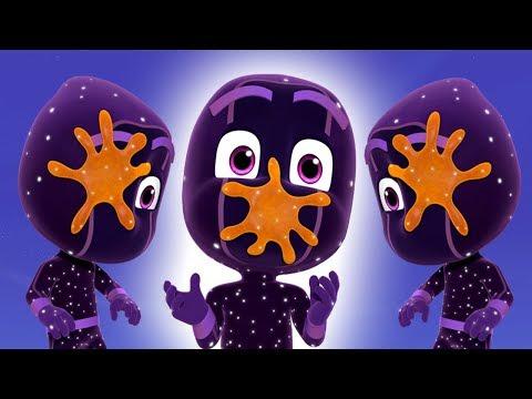 PJ Masks Episodes | Sticky Splats and Little Ninjas | Cartoons For Children