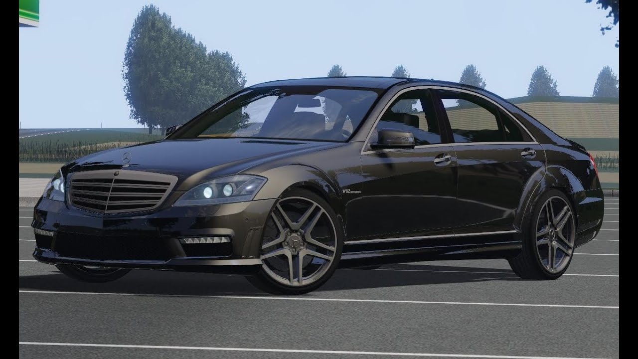 Mercedes benz s65 amg 2010 drive links racer free game youtube