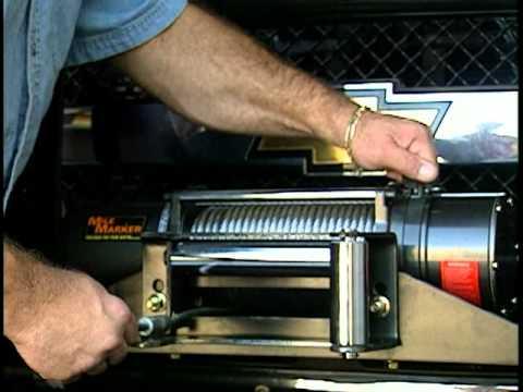 mile marker winch model pe8000 installation guide
