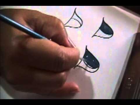 Seminario para pintar Ojos - Parte 9/16 - YouTube