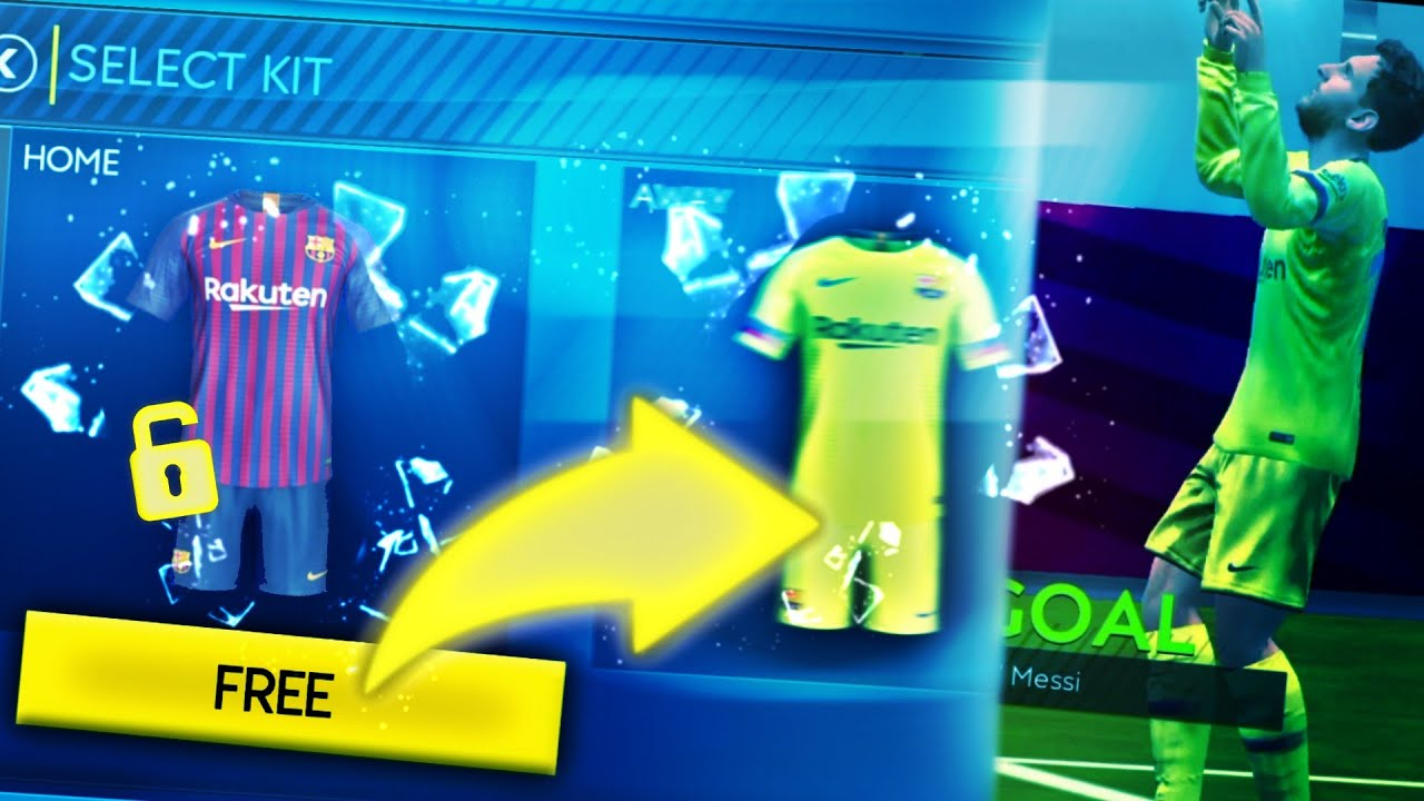 super popular 4b0c6 76b05 FREE BARCELONA KIT - HOW TO GET FREE KIT IN FIFA MOBILE 19