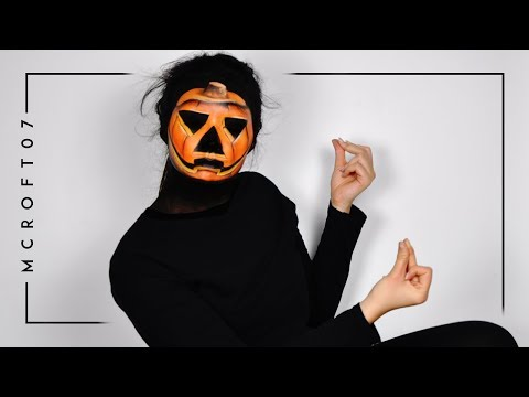 DANCING PUMPKIN GIF MAKEUP TUTORIAL