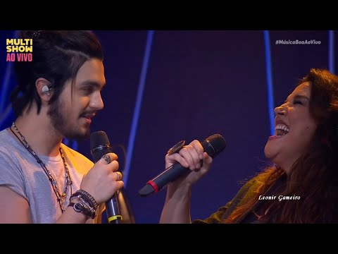 Ana Carolina e  Luan Santana -