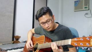 Listen - Stonefree【Acoustic Guitar Cover】