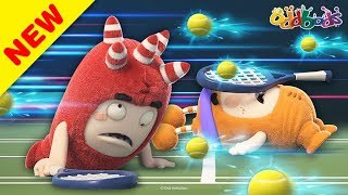 Oddbods | NEW | Game, Set, Match! | Funny Cartoons For Kids