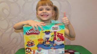 Набор Play Doh Плей До Сладкая вечеринка Распаковка, обзор