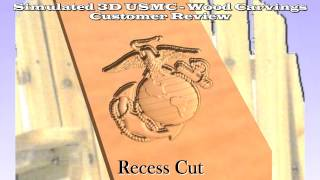 Marine Emblem, Lawn Chair, Proposal For Customer Review