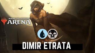 DIMIR ETRATA THE SILENCER Standard Deck - Magic Arena MTG Arena MTGA