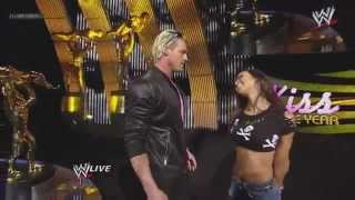 AJ Kisses Dolph Ziggler - WWE Slammy Awards 2012 (Kiss Of The Year)
