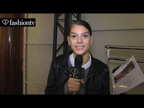 Talbot Runhof Spring/Summer 2014 Backstage | Paris Fashion Week PFW | FashionTV