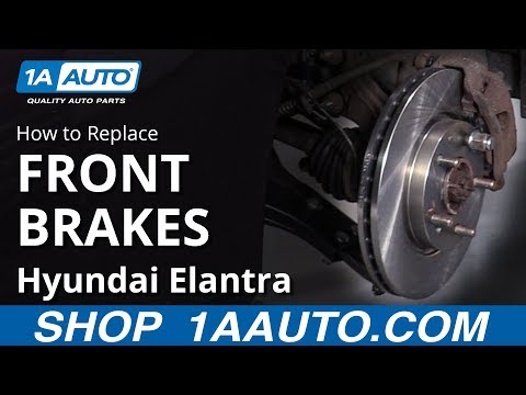 How to Replace Front Brakes 07-10 Hyundai Elantra