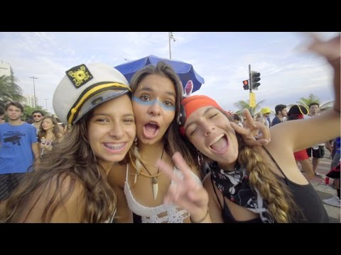 Carnival 2016 in Ipanema Beach, Rio de Janeiro, Brazil