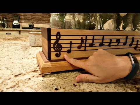 Beautiful Musical Centerpiece Box