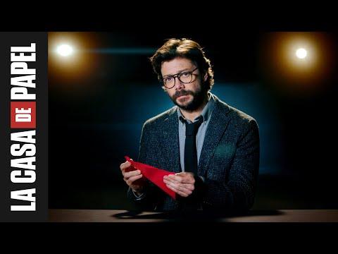 La Casa de Papel | Tutorial de origami del Profesor | Netflix