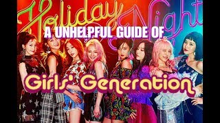 A Unhelpful guide of SNSD - Stafaband