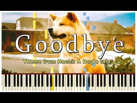 GOODBYE HACHIKO | PIANO TUTORIAL synthesia| FREE sheet music