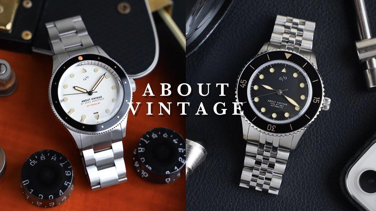😎夏日再添新裝/限量版ABOUT VINTAGE機械錶1926AUTOMATIC/復古五珠鍊/同場加映北歐羅斯基勒音樂節聯名錶上手🖤
