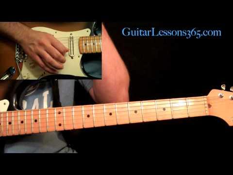 Stevie Ray Vaughan - Texas Flood Guitar Lesson Pt.1 - Intro