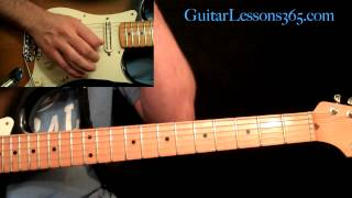 Stevie Ray Vaughan - Texas Flood Guitar Lesson Pt.1 - Intro