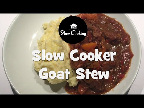 Absolutely Delicious Slow Cooker Goat Stew That Everyone Will Love