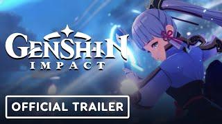 Genshin Impact - Official Kamisato Ayaka Character Demo Trailer