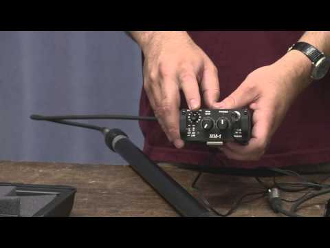 Demo SoundDevices MM1 for wireless boom operator