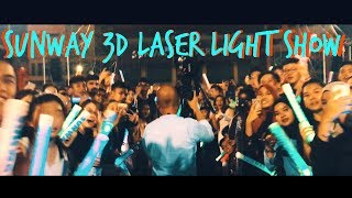 30 Years With Sunway | 3D Laser Light Show