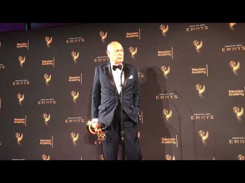 Gerald McRaney 'This Is Us' wins at 2017 Creative Arts Emmys  Press room video