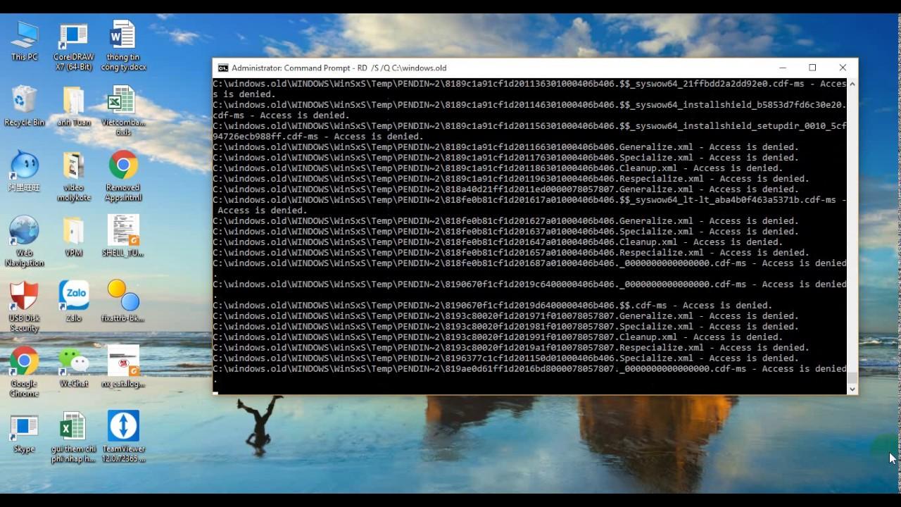 how about clear window.old win 10: hương dẫn xóa file window.old