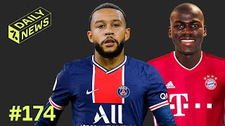 Memphis Depay's summer options REVEALED! + Bayern linked with Koulibaly!