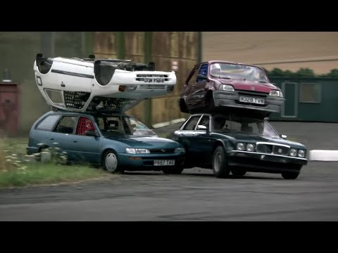 The Ashes Challenge Part 1 - Top Gear - BBC