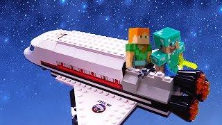 Майнкрафт видео – Космические приключения Стива! - Игры .