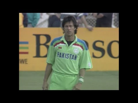 Pakistan vs New Zealand 1992 World Cup Semi Final Highlights HD (Rare) thumbnail