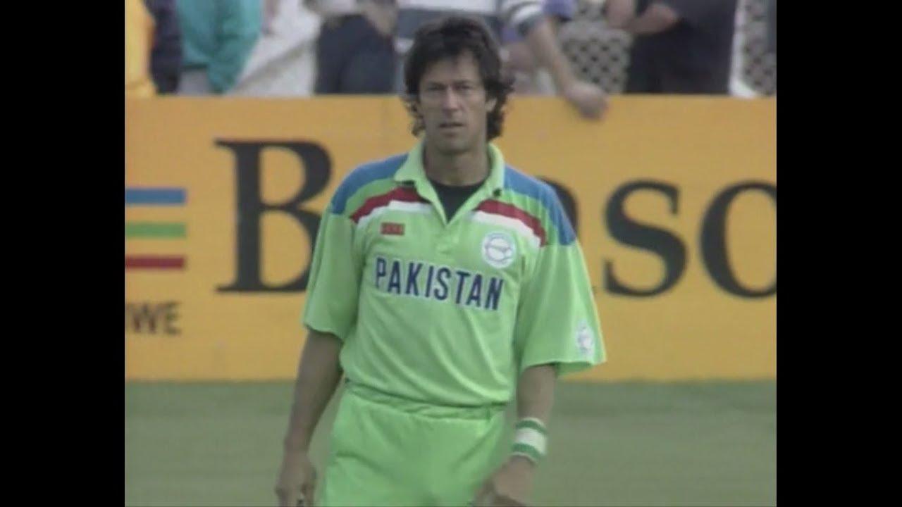 Pakistan Vs New Zealand 1992 World Cup Semi Final Highlights Hd Rare