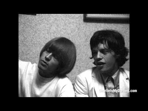 Mick Jagger, Brian Jones & Keith Richards at press conference (Charlie is my Darling) | ABKCO Films