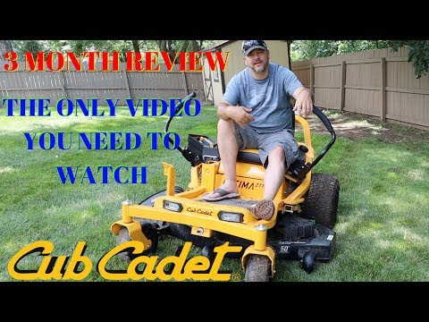 Cub Cadet ULTIMA ZT1 Zero Turn Lawn Mower | 3 Month Review | Pros and Cons
