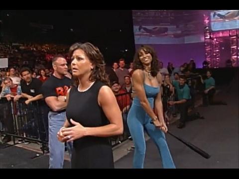 720pHD: WCW Nitro 052200  Miss Elizabeth & Kimberly Page Segment
