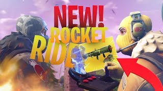 UNLIMITED AMMO with the NEW LEGENDARY GUIDED MISSILE LAUNCHER! - Fortnite Battle Royale
