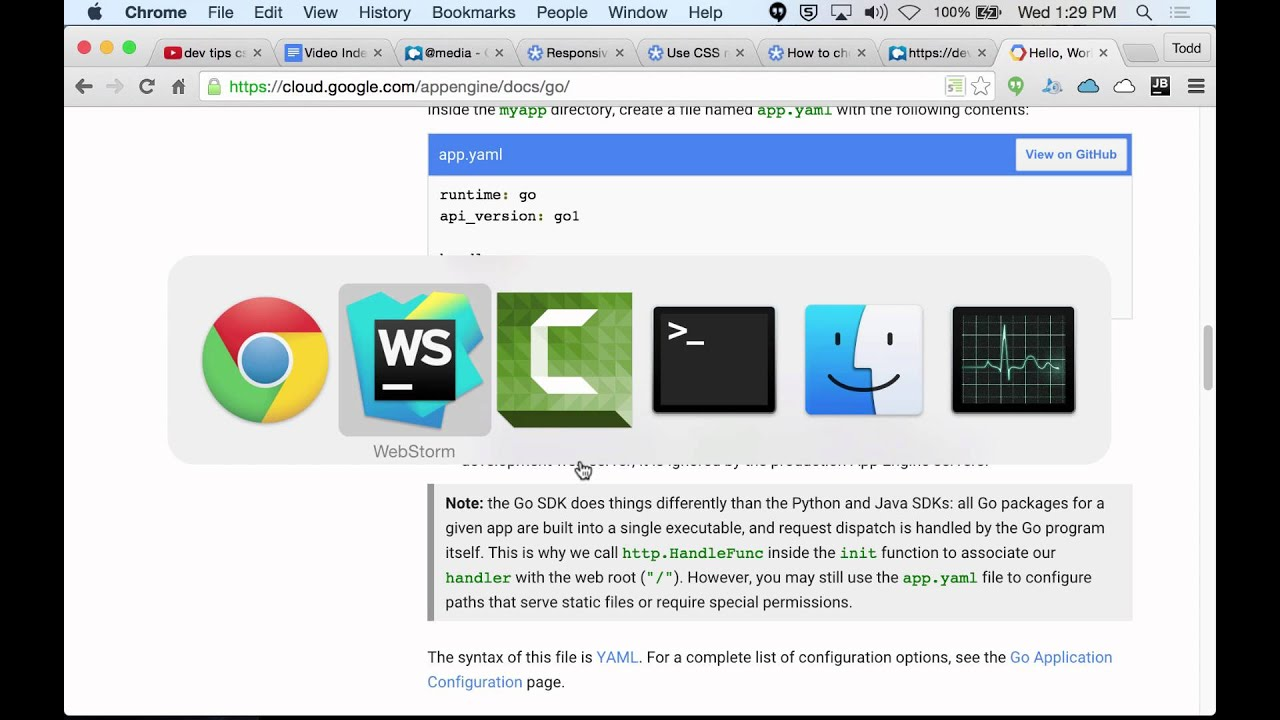 Go and google app engine youtube go and google app engine baditri Choice Image