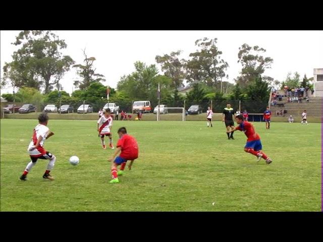 Club Del Valle Necochea vs  River Plate primer partido