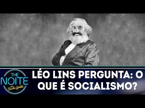 Léo Lins pergunta: o que é socialismo?   The Noite (26/03/18)
