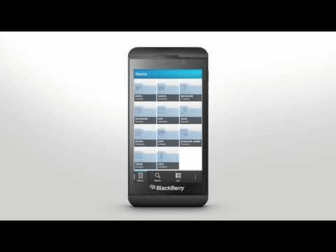 File Manager: BlackBerry Z10 - Official How To Demo