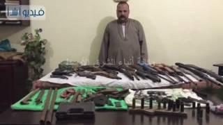 بالفيديو: ضبط ورشة لتصنيع الأسلحة النارية يديرها عامل بمنزله بالبحيرة