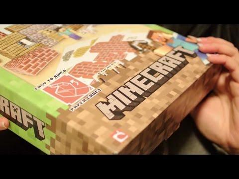 Papercraft Binaural ASMR Minecraft Papercraft