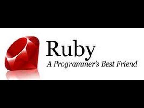 LEARN RUBY PROGRAMMING LANGUAGE - BEGINNERS VIDEO TUTORAIL